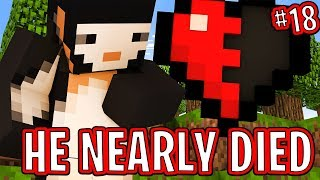 HE NEARLY DIED!! - FRIEND OR FOE! #18 | MINECRAFT