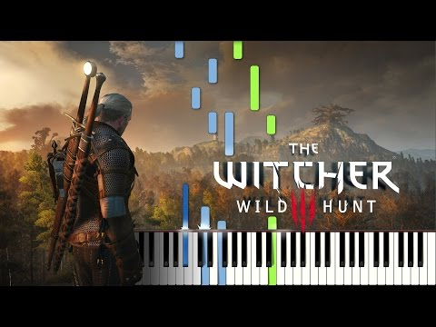 The Witcher 3 Wild Hunt Piano Medley  Sheet Music & Midi Synthesia