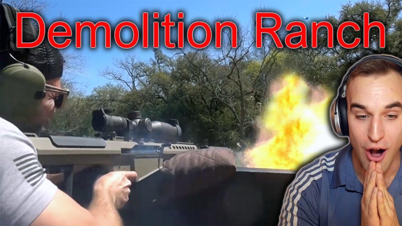 Estonian Soldier reacts to more Demolition Ranch