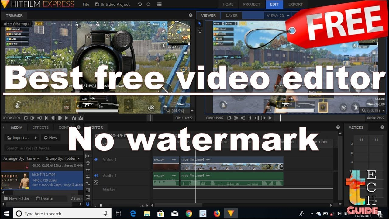 best video editor free without watermark