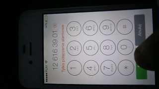 iPhone 4S , iOS7 - emergency call bug :)