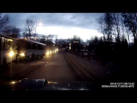 Авария 545 маршрутки и автобуса в Пушкине.