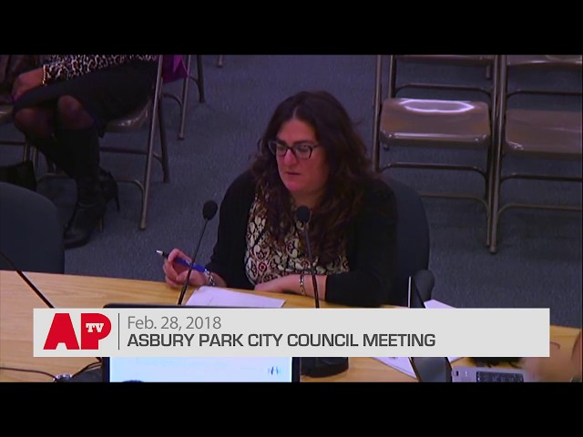 Asbury Park City Council Meeting - Feb.  28, 2018