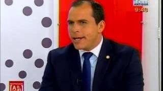 Entrevista nuevo Ministro de cultura y deportes CA 2143 180914