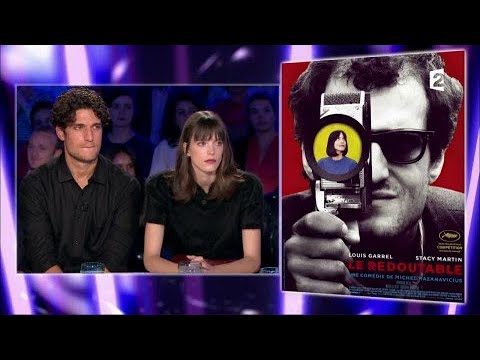Louis Garrel et Stacy Martin  On n'est pas couché 9 septembre 2017 ONPC