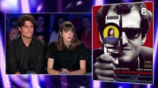 Louis Garrel et Stacy Martin - On n'est pas couché 9 septembre 2017 #ONPC