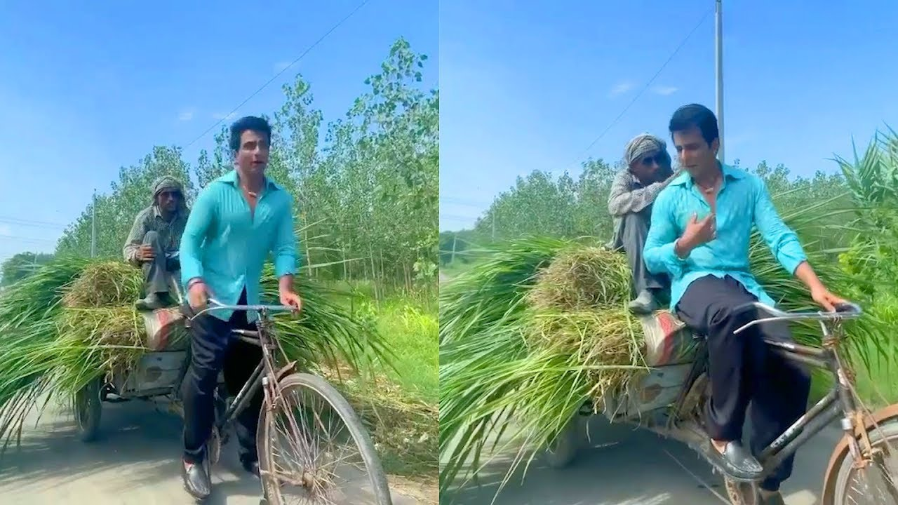 Sonu Sood Helped a Milk Man on His Way to Home   Sonu Sood Latest News   TVNXT Hotshot