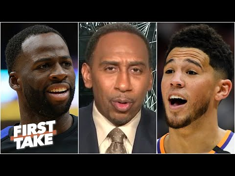 'You ain't Steph!' - Stephen A. reacts to Draymond Green's comments about Devin Booker | First Take