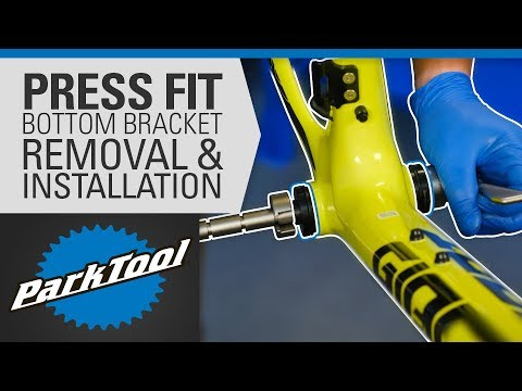How To Remove And Install Bottom Brackets - Press Fit