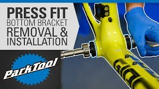 How to Remove aฑd Install Bottom Brackets - Press Fit