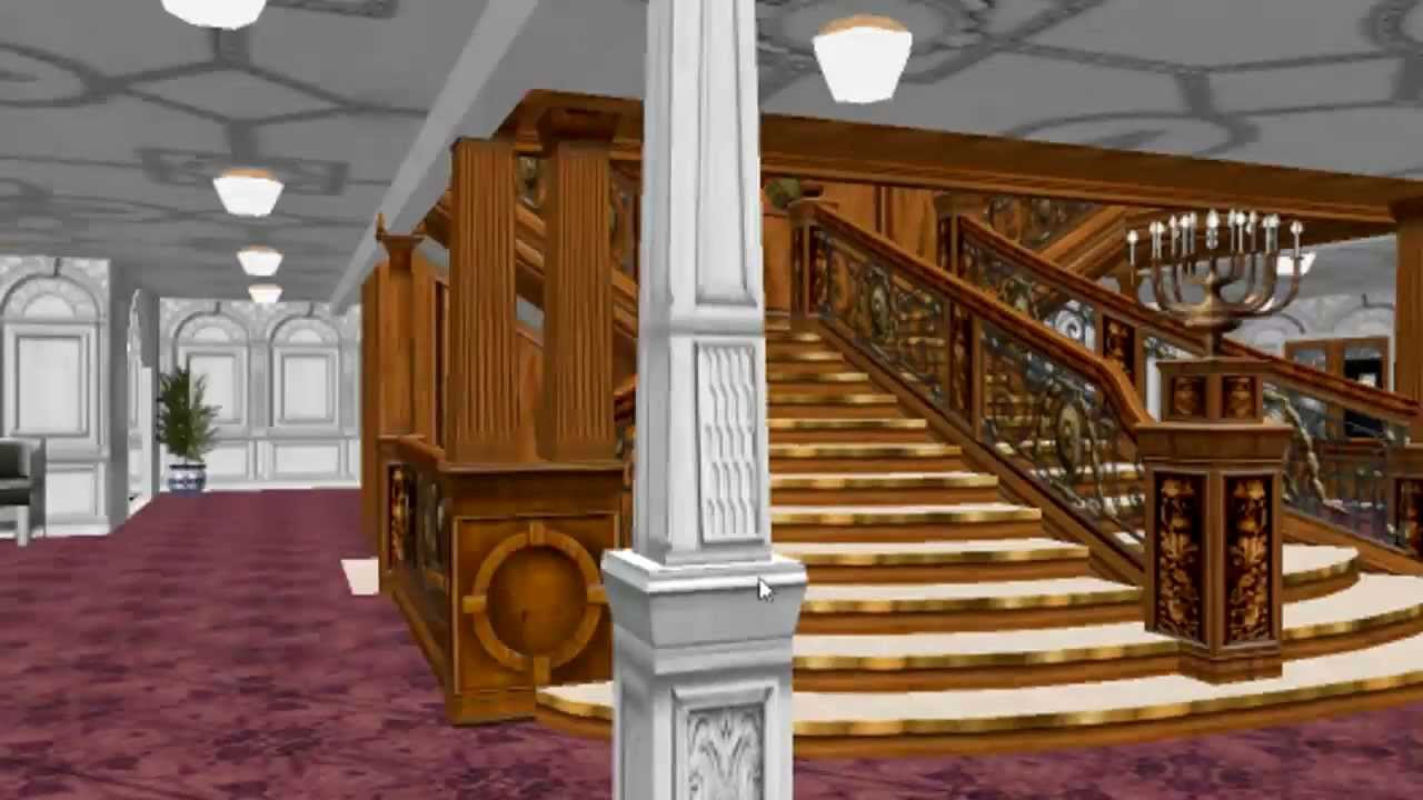 Titanic 3d walkthrough youtube for 3d walkthrough