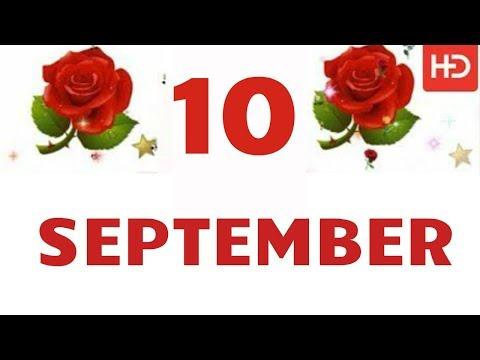 10 SEPTEMBER Special New Birthday Status Video , happy