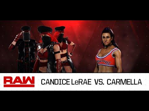 Candice LeRae Vs. Carmella