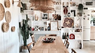🍍 Interior Design | Beach Styled House With Natural Materials • Marseille