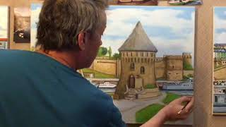 Drawing and Painting Tour Tanguy Brest Brittany France 10