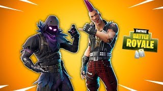NEW RIOT SKIN - RAVEN SKIN RETURN - Fortnite Daily Reset NEW Items in Item Shop (en)