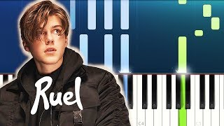 Ruel - Painkiller / Don't Tell Me (Piano Tutorial)