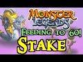 Monster Legends - Feeding to 60! : Stake