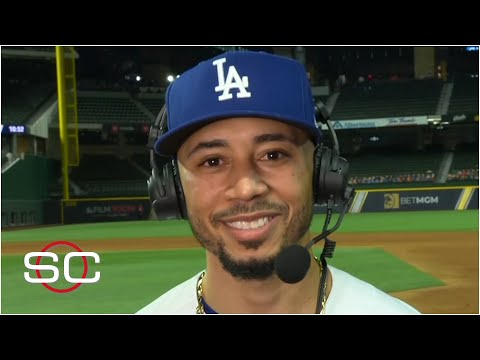 Mookie Betts speaks on his versatility after Dodgers' Game 1 win  SportsCenter