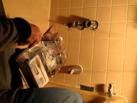 How To Replace Shower Faucet Stems Youtube