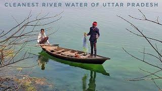 Boating at Manjhra Purab - CLEANEST River Water in UTTAR PRADESH!