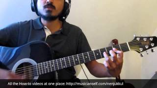 Nenjukkul - Rhythm Chord and Strumming - Intro Major & add 2