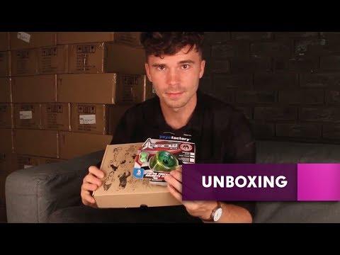 Yo-yo ARROW Starter Set Unboxing - SLUSNY Yoyo Shop