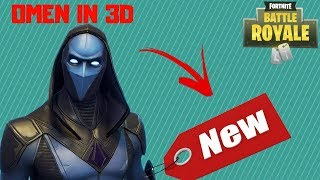 Fortnite Battle Royale | OMEN NEW LEAKED SKIN WITH 3D PREVIEW FULL SET