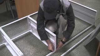 видео металлические стеллажи