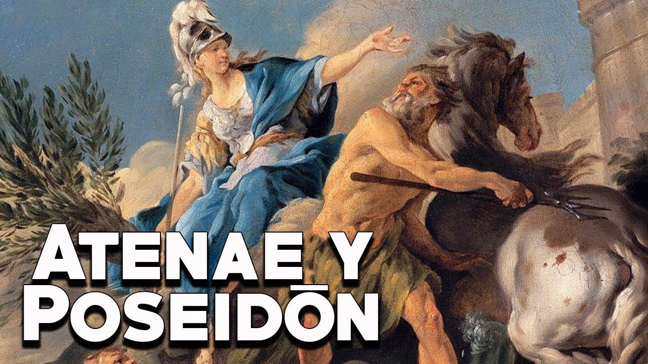 Atenea y Poseidón: La Dis**** por la Ciudad de Atenas - Mitología Griega - Mira la Historia
