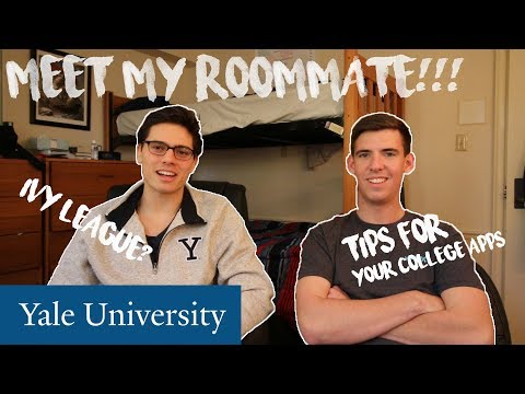 MEET MY YALE ROOMMATE! // ADVICE & TIPS FOR YOUR IVY LEAGUE COLLEGE APPLICATION