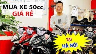 Địa chỉ Mua xe Exciter 50cc và Moto Mini 110cc tại Hà Nội
