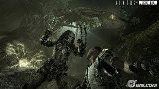 прохождение игры чужой против хищника (хищник) завод и руины часть 4