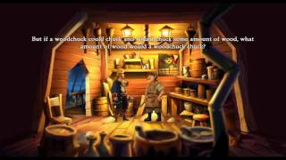 Monkey Island 2 - How Much Wood Could A Woodchuck Chuck