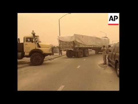 GWT: Aid convoy from Kuwait makes its way towards Umm Qasr