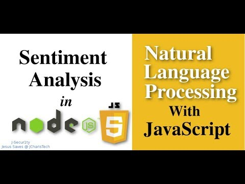 NLP with JavaScript- How to do Sentiment Analysis