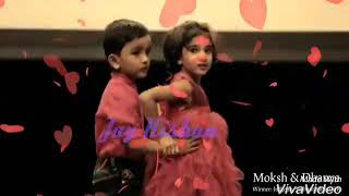 Mere rashke kamar video song Romantic cute baby couple dance Chhath special