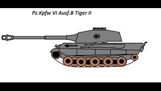 Как нарисовать танк в Paint(Как нарисовать танк Tiger 2 в Paint Видео немного сжалось) Im sorry=) Музыка от сюда http://audiomicro.com Моя партнерская прогр..., 2015-07-26T18:19:31.000Z)