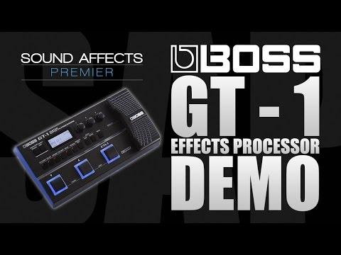 Boss GT-1 Guitar Effects Processor Demo Review w/ Tom Quayle