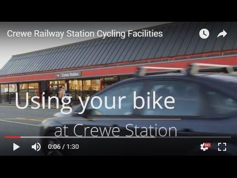 Crewe Railway Station Cycling Facilities