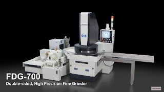 FDG-700 Double-sided, High Precision Fine Grinder