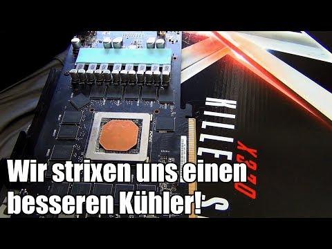ASUS R9 390 Strix Kühler modifiziert (Kupferplatte + mehr)