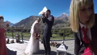 Свадьба Маши и Жени! Грузия, Казбеги 19/09/2015