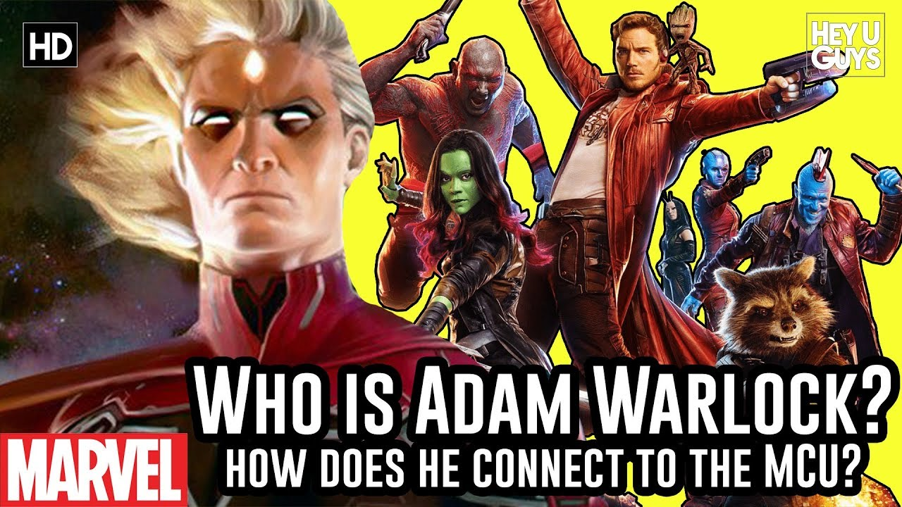 Who is Adam Warlock and how does he connect to The Avengers?
