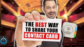 The BEST Way to Share Your Contact Card