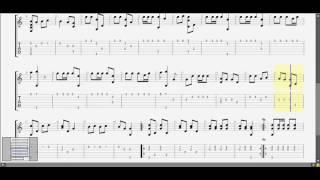 Bống Bống Bang Bang guitar solo tab