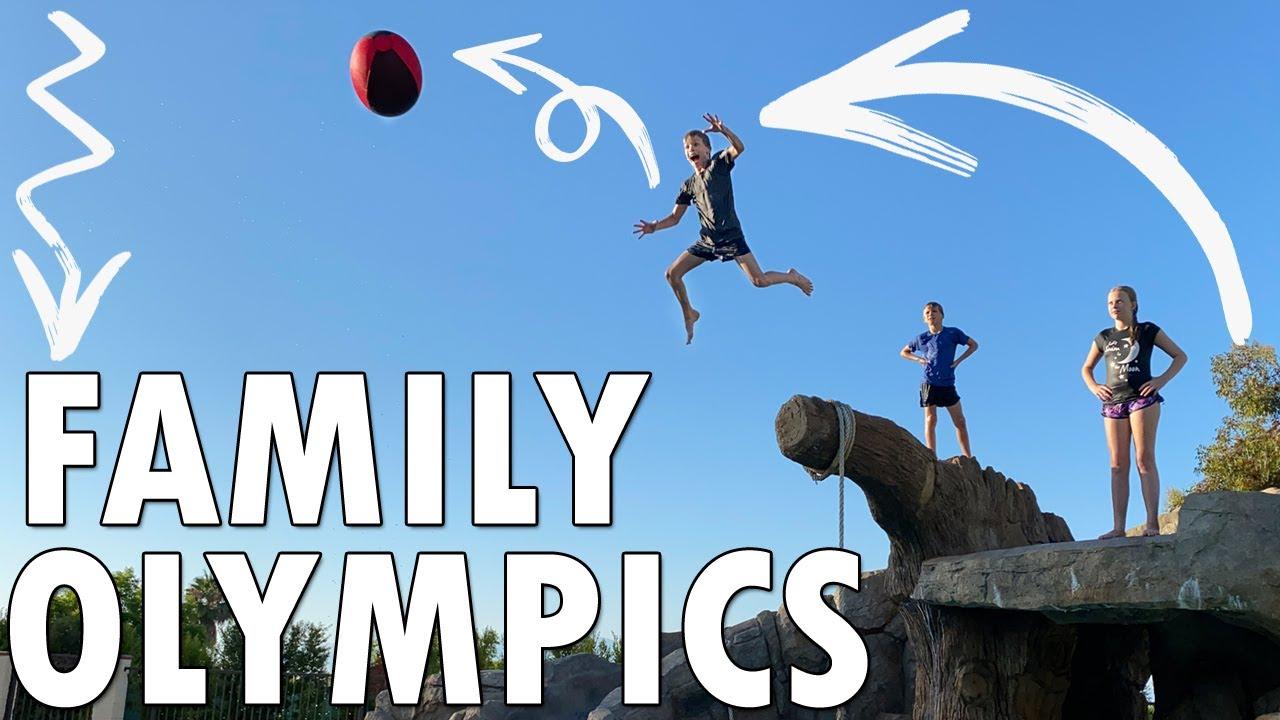 Family Olympics Challenge!!
