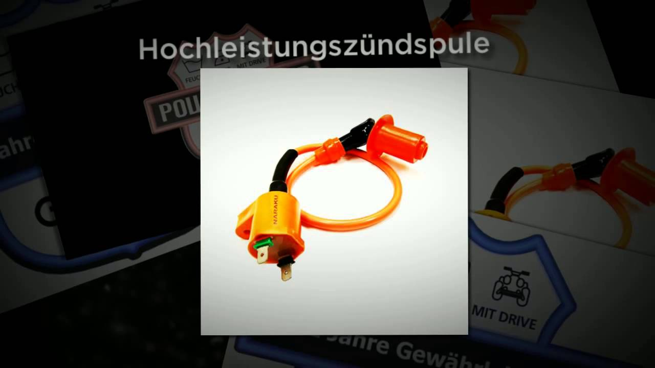 Quad ATV Zündspule Tuning - YouTube