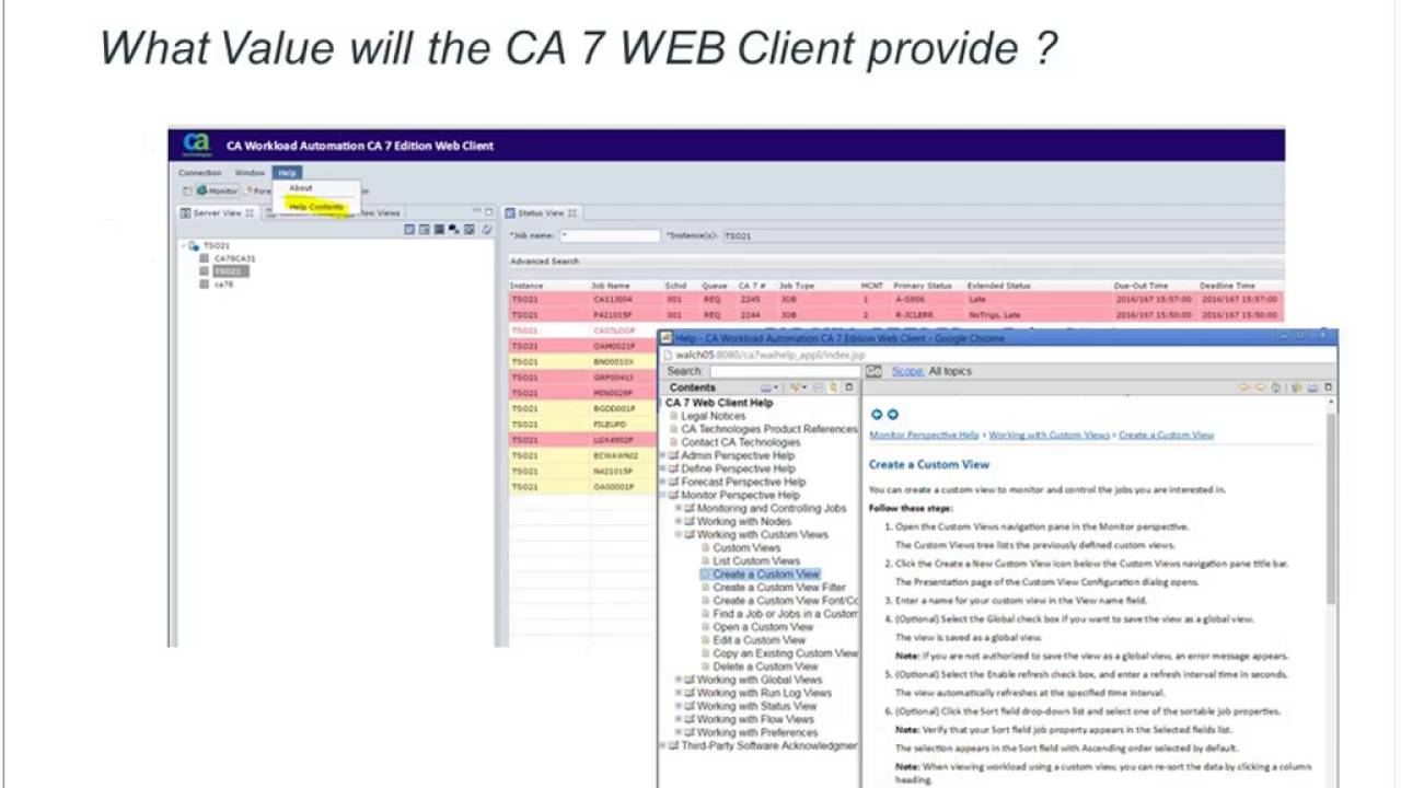 Getting the most out of your CA Workload Automation CA 7® Web Client  20160628 1450 1