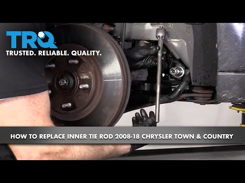How to Replace Front Inner Tie Rod 2008-18 Chrysler Town & Country